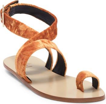 Бархатные сандалии Hallie Tibi