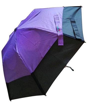 Ветрозащитный складной зонт с автоматическим открытием / автоматическим закрытием GUSTBUSTER
