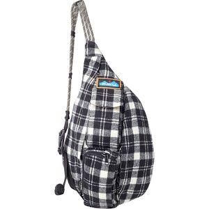 Миниатюрная клетчатая веревочная сумка KAVU KAVU