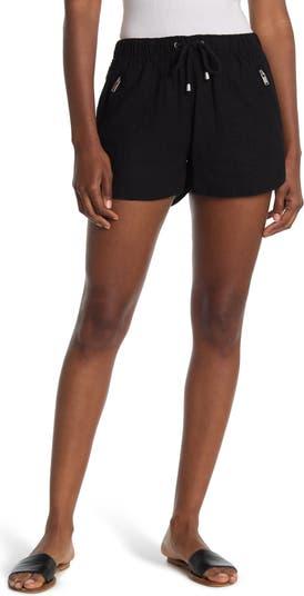 Linen Blend Drawstring Shorts BLANKNYC