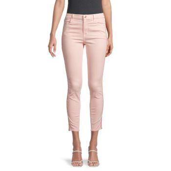 Укороченные джинсы скинни Alana с высокой посадкой J Brand