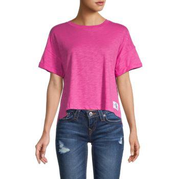 Футболка с заниженными плечами Calvin Klein Jeans
