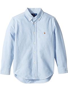 Хлопковая спортивная рубашка-оксфорд (для маленьких детей) Ralph Lauren