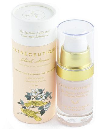 Natreceutique Calm in the Evening Натуральное увлажняющее средство для улучшения старения, 0,5 унции The Sunscreen Company