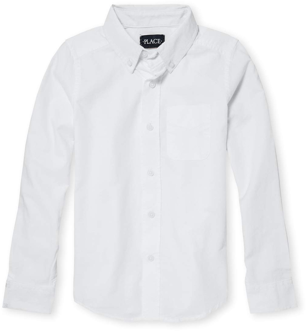 Униформа Оксфордская рубашка на пуговицах (для детей младшего и школьного возраста) The Children's Place