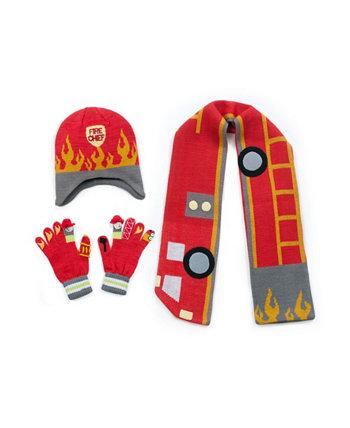 Big Boy Fireman Трикотаж Комплект Kidorable