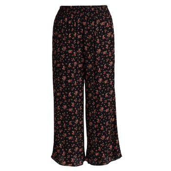 Широкие брюки с принтом Kora Kiyonna