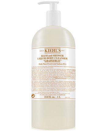 Жидкое очищающее средство для ванны и душа - Грейпфрут, 33,8 жид. унция Kiehl's Since 1851