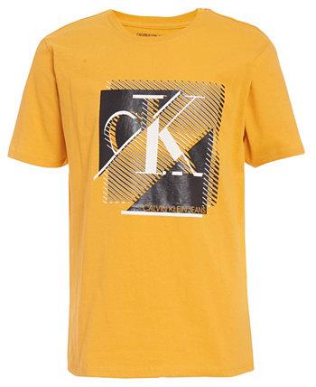 Футболка Big Boys Linear Puzzle Work Calvin Klein