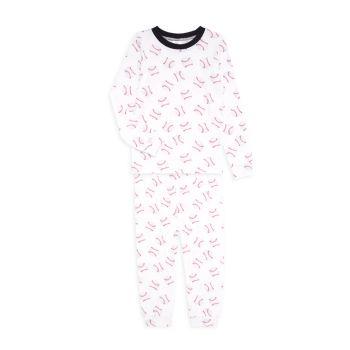 2-х частей Little Boy's & amp; Бейсбольный пижамный комплект для мальчиков Esme