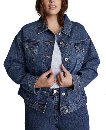 Trendy Plus Size 90s Baggy Denim Jacket COTTON ON