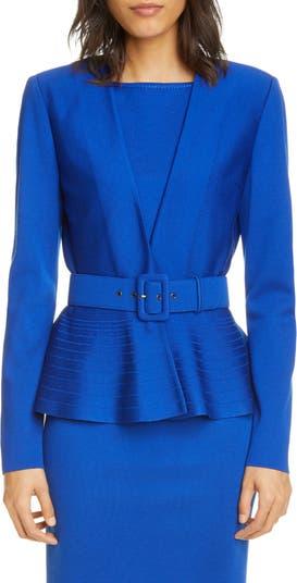 Вязаная куртка Engineered Duo Milano St. John Collection