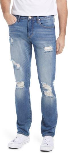 Рваные прямые джинсы Crosby с внутренним швом 33 дюйма Articles of Society