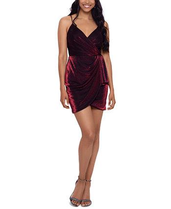 Облегающее платье с металлическим принтом для юниоров Blondie Nites