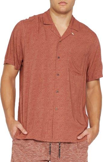 Рубашка с коротким рукавом с абстрактным принтом Civil Society