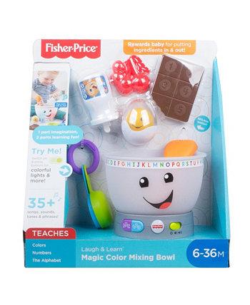 Чаша для смешивания цветов Laugh & Learn Magic Fisher Price