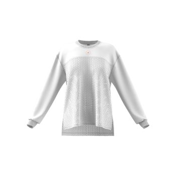 Топ из органического хлопка с длинными рукавами Adidas by Stella McCartney