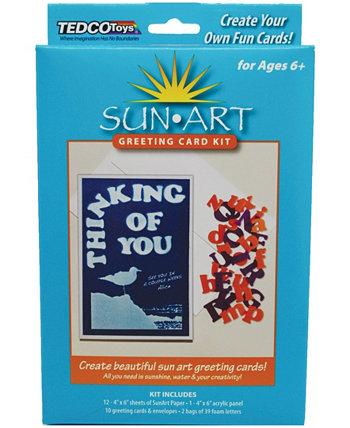 Набор поздравительных открыток SunArt Tedco Toys