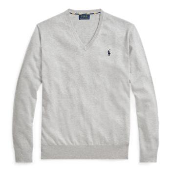 Cotton V-Neck Sweater Ralph Lauren