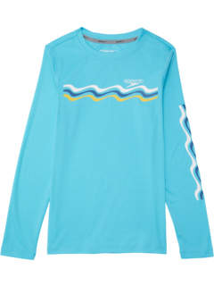 Плавательная рубашка с длинным рукавом с рисунком (для маленьких и больших детей) Speedo Kids