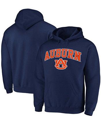 Толстовка мужская темно-синяя Auburn Tigers Campus Pullover Fanatics