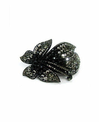 Женская заколка-бабочка с покрытием из кристаллов Soho Style