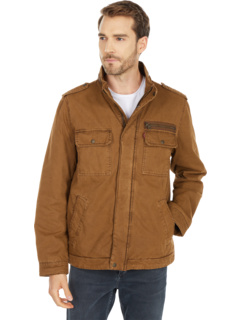 Куртка в стиле милитари с двумя карманами и подкладкой из политвилла Levi's®