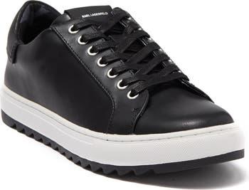 Низкие кроссовки из переработанной кожи Karl Lagerfeld Paris