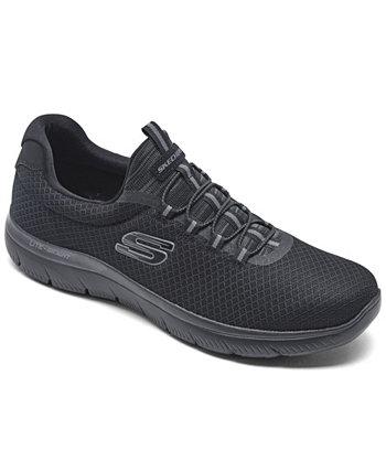 Мужские спортивные кроссовки Summit Slip-On от Finish Line SKECHERS