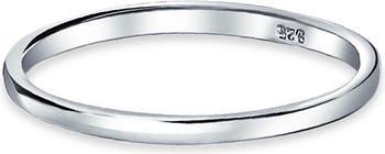 Тонкий наращиваемый ремешок из стерлингового серебра Bling Jewelry