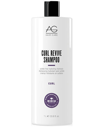 Curl Revive Sulfate-Free Hydrating Shampoo, 33.8-oz., from PUREBEAUTY Salon & Spa AG Hair