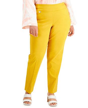 Плюс и миниатюрные узкие брюки-скинни плюс размер, созданные для Macy's Alfani