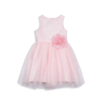 Baby's Little Girl's & amp; Подгонка банта для девочек & amp; Платье-клеш Pippa & Julie