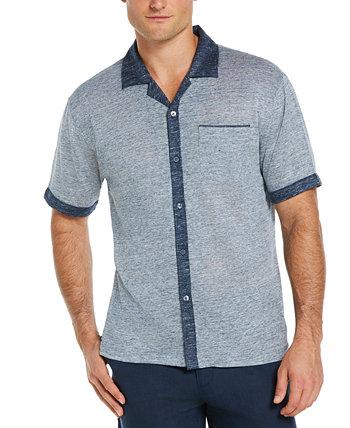 Мужская рубашка с вышивкой из хлопчатобумажной ткани Cubavera