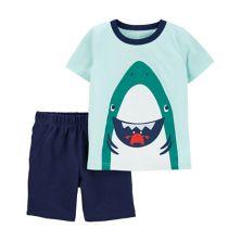 Пижамный комплект Baby Boy Carter's Shark Carter's
