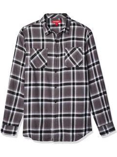 Фланелевая рубашка на пуговицах с узором UNIONBAY