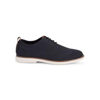 Вязаные туфли Balmoral с прямым носком Bill Blass