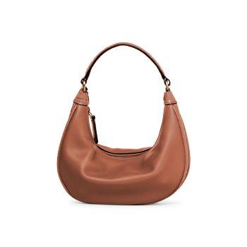 Кожаная сумка через плечо Mini Sasha STAUD