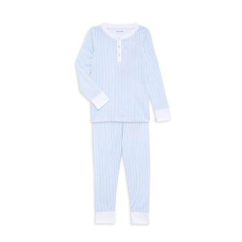 Baby's, Little Boy's & Boy's 2-Piece Striped Pajama Set ROLLER RABBIT