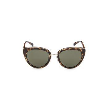 """Солнцезащитные очки """"кошачий глаз"""" 52 мм M Missoni"""