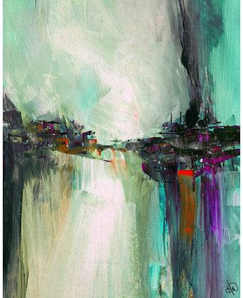 """Художественный принт на стене с абстрактным портретом Элаши Дельты - 24 """"x 36"""" Creative Gallery"""