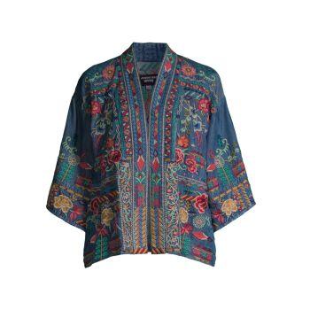 Eilona Kimono Jacket Johnny Was