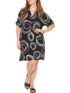 Plus Size Billow Dress NIC+ZOE