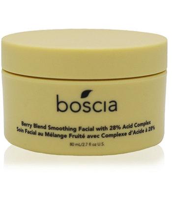 Разглаживающая маска для лица с ягодной смесью и комплексом 28% кислоты Boscia