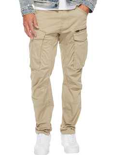 Rovic Zip 3D Tapered Fit Pants in Premium Micro Stretch Twill Dune G-Star
