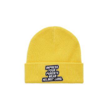 Вязаная шапка Impress со слоганом Helmut Lang