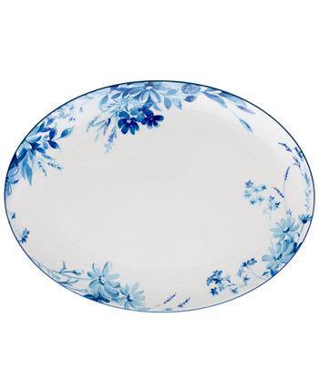 Blossom Road Oval Platter Noritake