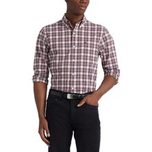 Big & Tall Chaps Classic-Fit Stretch Easy-Care Button-Down Shirt CHAPS