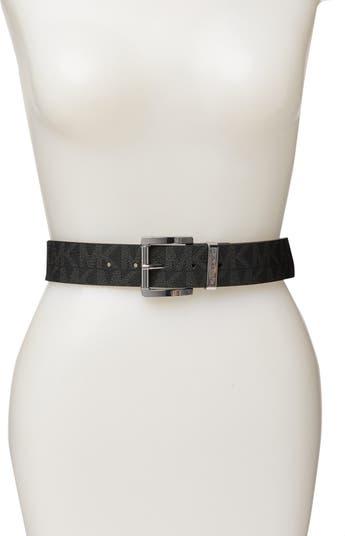 Logo Print Belt Michael Kors
