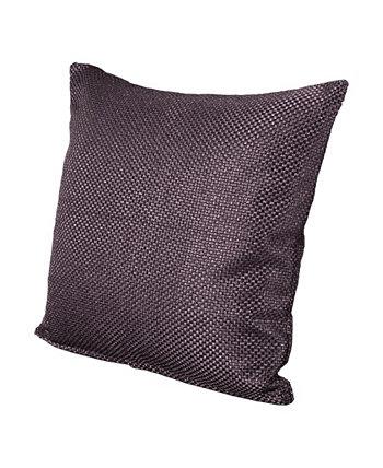 Дизайнерская европейская подушка Silk Route Shitake 26 дюймов Siscovers
